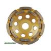 gyémántcsiszoló korong; 115mm×22,2mm, kétsoros