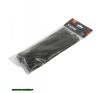 kábelkötegelő 4,8×380mm 100db, fekete nylon; villanyszerelés