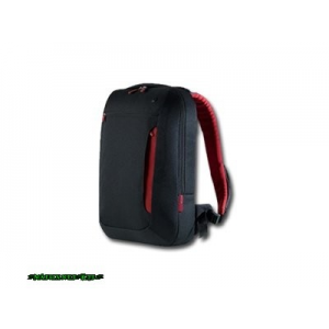 "Belkin Slim Back Pack for Notebook 17"" Jet/Cabernet"
