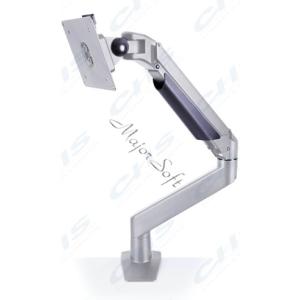Multibrackets Gaslift asztali rögzítő LCD/PLAZMA/LED konzol ezüst színű, Vesa 75x75 100x100