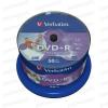 Verbatim DVD+R 16x Full Printable NO ID Cake (50) /43512/