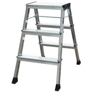 KRAUSE Monto Rolly gurítható lépcsőfokos fellépő 2x3 fokos Alu 130068