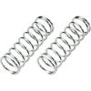 REELY 1:8 tuningrugók, 80,5 mm, 1 pár, közepes, ezüst, MV1383GA