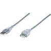 USB hosszabbító kábel, 1,8 m