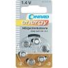 Conrad energy 6 db hallókészülék elem ZA-312