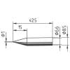 Ersa 842 pákahegy, forrasztóhegy 842 BD ceruza formájú hegy 1.0 mm