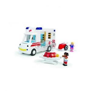 WOW Robin mentőautója
