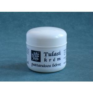 Tulasi krém-pattanásos bőrre