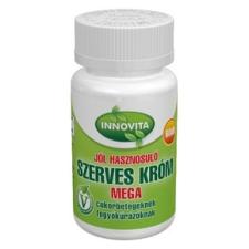 Innovita szerves króm tabletta 60db táplálékkiegészítő