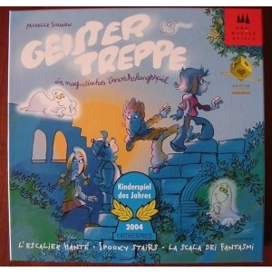 Drei Magier Spiele Geistertreppe - Szellemlépcsö