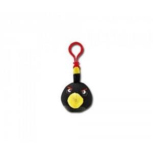 Rovio Angry Birds plüss hátizsák dísz Fekete madár