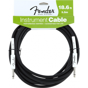 Fender Custom Shop Performance Series Cable 5.5m BLK