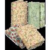 PIGNA Nature Flowers füzetbox, gumis, A4, 3 cm gerinc