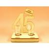 45. születésnapra pohár szett
