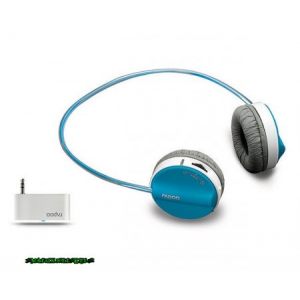 RAPOO H3070 Fashion Wireless Headset Blue Headset,2.0,USB,Mikrofon,Wireless,Blue,3,5mm-ről is műkődik!