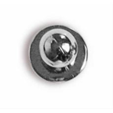 Szakácskabát gomb-ezüst színű-12 db