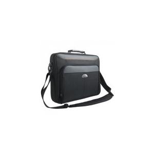 """Modecom Notebook Táska 15, 6"""" - Cherokee (külön rekeszek; vállpánt; fekete, narancs csíkkal)"""