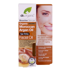 Dr. Organic Dr.Organic Marokkói Argán olaj Arcápoló olaj - öregedésgátló 30ml