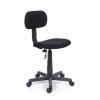Irodai szék, fekete szövetborítás, fekete lábkereszt,