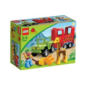 LEGO Duplo - Cirkuszi szállítójármű 10550