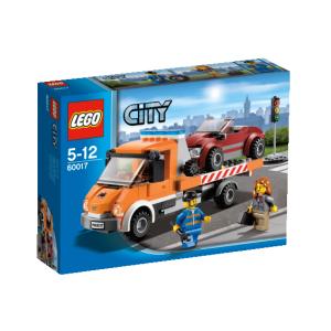 LEGO City - Lapos platójú teherautó 60017