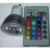 Life Light Led Led GU10 power spot égő, 1 led, 20-80 Lumen, 3W, 45°, RGB Life Light Led