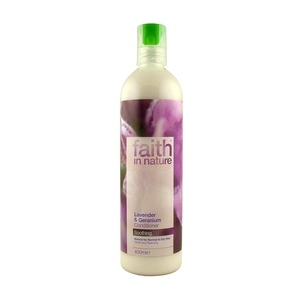 Faith in Nature hajkondicionáló, Levendula és geránium, 250 ml