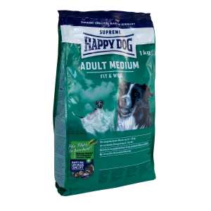 Happy Dog Supreme Fit & Well adult medium 1 kg száraz kutyaeledel