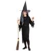 Fekete boszorkány jelmez - 128 cm-es méret