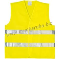 Coverguard Fluo jól láthatósági mellény, 2 keresztcsík, sárga