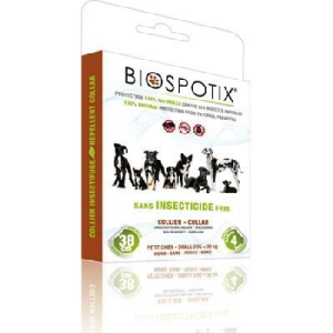 Biospotix bolhanyakörv kutya kicsi 38cm