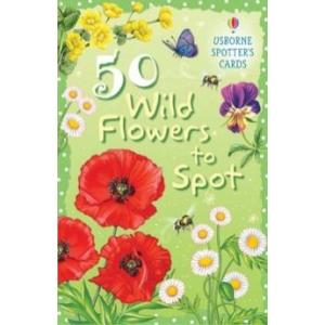 50 Wild Flowers to Spot - 50 vadvirág-fajta (kártya)