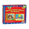 Matching Animals & Habitats Lace-Up Cards