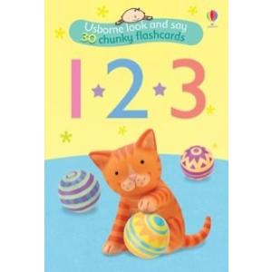 123 Flashcards - számok (kártya)