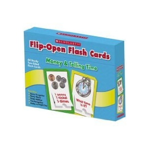 TF: Flip-Open Flashcards: Money & Time