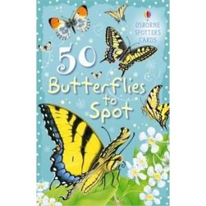 50 Butterflies to Spot - Ismerd meg a pillangókat! (kártya)