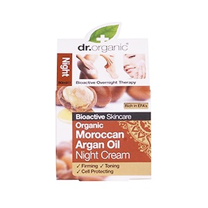 Dr. Organic Argan Oil Arc- és testápoló 50 ml női