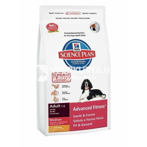 Hill's SP Canine Adult Advanced Fitness™ Medium Chicken 1 kg