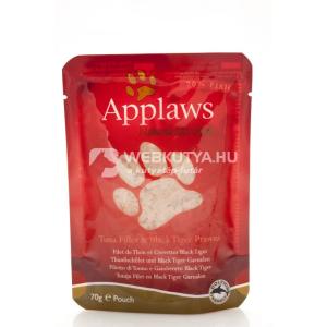 Applaws Cat tonhalfilé és garnélarák 6 x 70 g