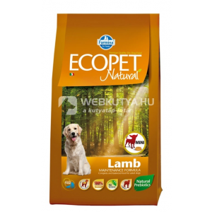 Ecopet Natural Adult Maxi Lamb 2 5 kg