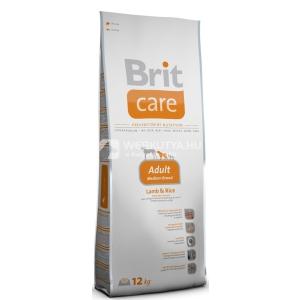 Brit Care Hypo-Allergenic Adult Medium Breed Lamb & Rice 3 kg