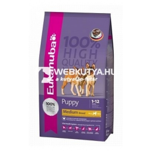 Eukanuba Puppy Medium Breed 3 kg
