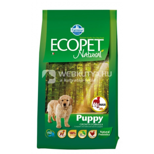 Ecopet Natural Puppy Mini Chicken 12 kg