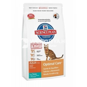 Hill's SP Feline Adult Optimal Care™ Tuna 10 kg