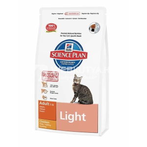 Hill's Hill's SP Feline Adult Light Chicken 10 kg