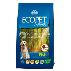 Ecopet Natural Adult Mini Fish 3 x 12 kg