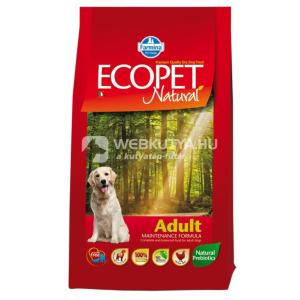Ecopet Natural Adult Chicken 3 x 12 kg