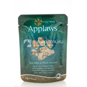 Applaws Cat tohalfilé és szardella 6 x 70 g