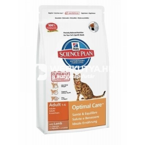 Hill's SP Feline Adult Optimal Care™ Lamb 10 kg