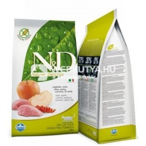 N&D Cat Adult Boar & Apple  0,3 kg